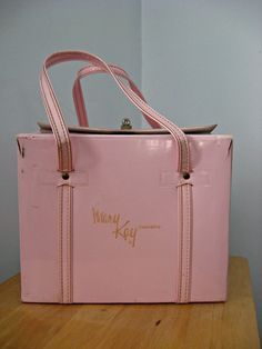 Love the Vintage Mary Kay Bag, fortunately we have stayed current with competitive ingredients AND a better bag. Lol.