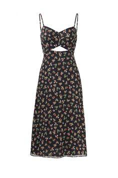 Bailey 44 Black Women's Size 4 Floral Print Cut out Sheath Dress - for sale online I Dress, Dress Outfits, Casual Dresses, Short Dresses, Casual Outfits, Sheath Dress, Pretty Outfits, Pretty Dresses, Cool Outfits