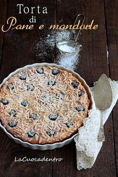 Torta di Pane e mandorle per MangiareMatera – La Cuoca Dentro