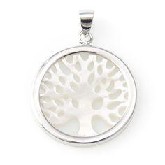 0d911d5e862b Colgante arbol de la vida en Plata de Ley cuya simbología es la de  proporcionar riqueza
