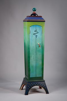 Rubicon: Meg Romero: Wood Cabinet | Artful Home.  Would go wonderfully in the Homes and Gardens bedroom nearby!