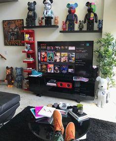 Bape Living Room Set - Living Room : Home Decorating Ideas Living Room Sets, Living Room Designs, Hypebeast Room, Gaming Room Setup, Game Room Design, Gamer Room, Room Goals, House Rooms, My Room
