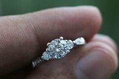 Unique engagement ring!
