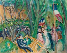 Raoul Dufy (Le Havre 1877 - 1953 Forcalquier), Le bal populaire, 1906