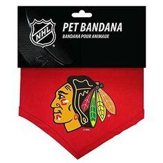 Chicago Blackhawks NHL Sports Team Logo Dog Bandana
