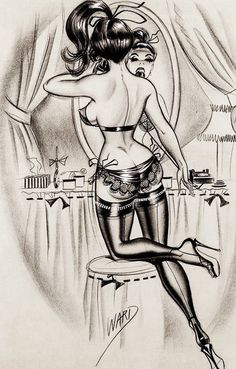 Illustration by Bill Ward c. 1960's