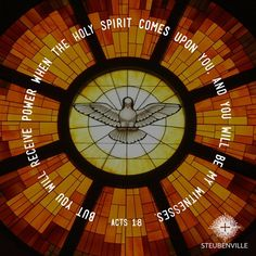 Holy Spirit come upon Us!!!