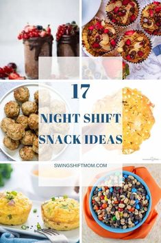 Healthy snack ideas for work that are homemade and can be prepped in advance. These are great night shift snack ideas that are excellent for late nights. The recipes include breakfast ideas, energy bites, dips for veggies, and high protein snacks. Healthy Late Night Snacks, Healthy Breakfast Snacks, Healthy Homemade Snacks, High Protein Snacks, Snacks For Work, Good Healthy Snacks, Breakfast Ideas, Energy Snacks, Low Carb Crackers
