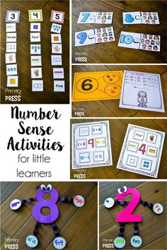 Number sense activities that are engaging and meaningful