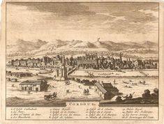 Grabado en plancha de cobre de 1715 de Pieter van der Aa.