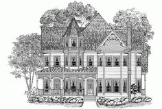 Eplans Queen Anne House Plan - Multitude of Views - 3061 Square Feet ...