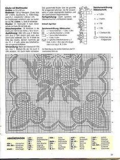 Kira scheme crochet: Scheme crochet no. 1505