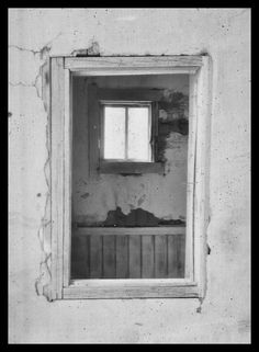 """Window # 2, Ceurvo NM"" Limited Edition photograph by dwjohnson.  Print size is 6x8. Framed size is 12x14. Only 100 will be made. White mount and mat with black frame with signed and numbered certificate. #01000-01726 $ 250.00"