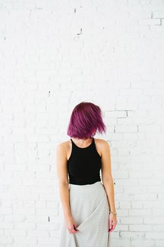 Purple hair? Yes, please!  London Lilac hair color transformation from @bri emery / designlovefest