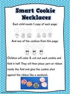 Smart Cookie Necklaces #smartcookies #backtoschool #teacherspayteachers