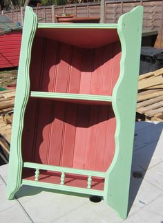 Country Classic Pine Wall Corner Unit