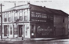 702 South 8th Street - This was the original Site of Magoon's Famous Delicatessen as it looked in June 18, 1918.  St. Joseph, Mo - http://ilovestjosephmo.com/702-south-8th-street-this-was-the-original-site-of-magoons-famous-delicatessen-as-it-looked-in-june-18-1918-st-joseph-mo