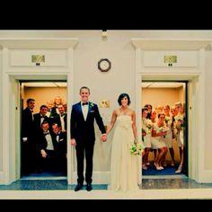 Cute bridal party photo!