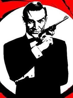 007 Bond Pop Art