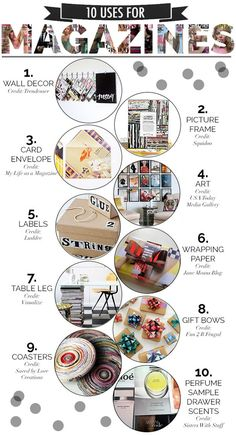 10 Creative Uses for Old Magazines
