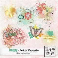 Happy - Artistic Expression Scatters