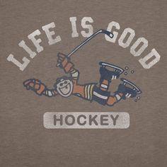 Life is good when you stay healthy thru the hockey season.