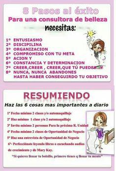 Tu plan de accion hacia el exito.http://www.marykay.es/susanadelgado