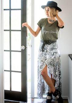 Boho Skirts | White Bohemian Store