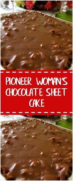 Pioneer Woman's Chocolate Sheet Cake – Fresh Family Recipes