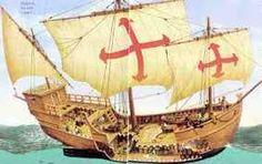 1) La Santa-María est un des trois navires ayant servit à Christophe Colomb pour la  traverser de l'océan Atlantique lors de sa première expédition, en 1492. Les deux autres bateaux sont la Nina et la Pinta .