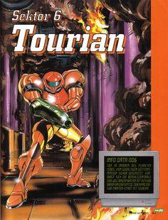 Metroid Database :: Super Metroid Artwork