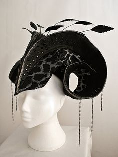 The Lacerta Headpiece  The Lacerta range is inspired by the textures, colours and sculptural forms of the Lizard.