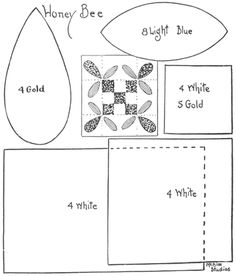 Honey Bee Quilt - Old quilt patterns page