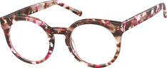 Order online, women red full rim acetate round eyeglass frames model #4438318. Visit Zenni Optical today to browse our collection of glasses and sunglasses. Glasses Frames, Eye Glasses, Eye Prescription, Four Eyes, Round Eyeglasses, Eye Shapes, Star Fashion, Cat Eye, Raspberry Chocolate