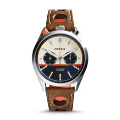 Fossil Del Rey Chronograph CH2973 Sport Watches, Cool Watches, Fossil  Watches For Men, 41a88d18d6