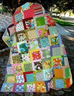 Jellyroll Quilts, Scrappy Quilts, Easy Quilts, Owl Quilts, Denim Quilts, Animal Quilts, Amish Quilts, Quilting Projects, Quilting Designs