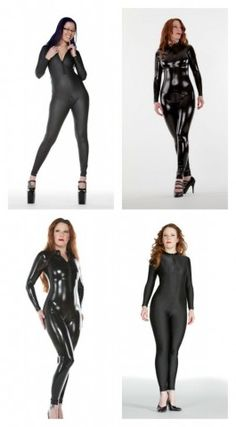 Get a good catsuit. It's tempting to grab the cheap ones, but structure matters, ladies.