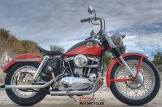 Harley Davidson News – Harley Davidson Bike Pics Sportster Cafe Racer, Ironhead Sportster, Bobber, Harley Davidson Sportster, Harley Davidson Bikes, Custom Harleys, Custom Bikes, Motorcycle Museum, Iron 883
