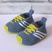 Stripy espadrille shoes crochet pattern - Allcrochetpatterns.net                                                                                                                                                     More
