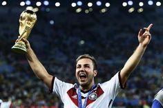 Mario Gotze, the World Cup hero