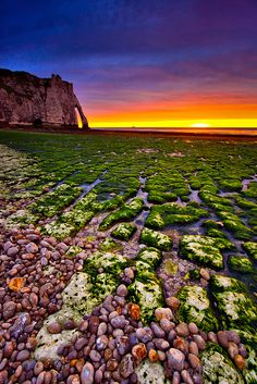 Etretat Sunset, France