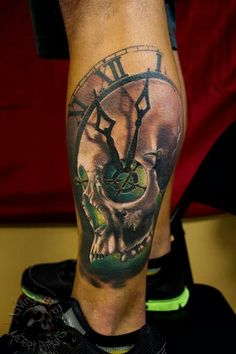 Jerry Pipkins of IV Horsemen Tattoo Parlour, Panama City, Florida.