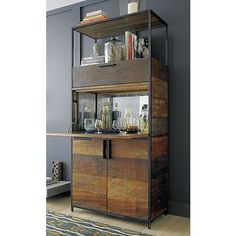 Clive Bar Cabinet in 15% off Bar Cabinets and Bar Carts | Crate and Barrel