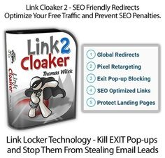 [GIVEAWAY] Link Cloaker 2 [+Bonuses]     WordPress Plugin Supercharges Your Affiliate Links and Boosts Commissions! Build Unlimited Link Campaigns...     Take Control of Your Links & Stop Giving Away Your List    Link Cloaker 2 is a powerful wordpress plugin you can use on any kind of wordpress site. Link Cloaker 2 to places you in control of your traffic as well as more significantly your earnings. With powerful features baked in that are suggested to optimize every affiliate link. Since…