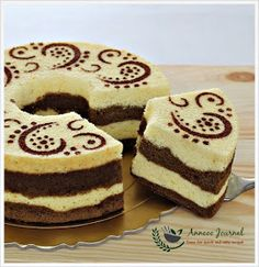 Anncoo Journal - Come for Quick and Easy Recipes: Orange Chocolate Chiffon Cake