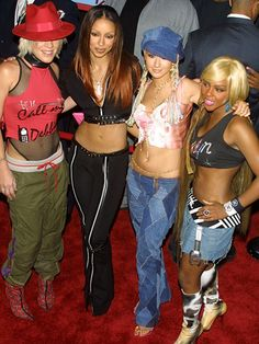 This decade was a bit of a mess style-wise, but there were three clear essentials: 1) Denim skirts 2) Hat-to-Outfit-Coordination, and the ultimate rule of the 2000's that mothers nationwide adored: 3) Show your stomach!
