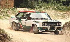 Fiat 131 Rallying