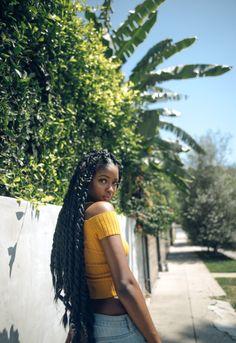 """justinamoafo: """" Strolling through Hollywood with Sira ☀️ • @justinamoafo """""""