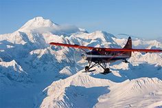 Will be a helicopter, not a plane, but will flying high over Denali!