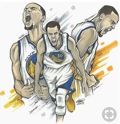 Part clothing, part art but all good. Celebrate Golden State Warriors gunner and MVP winner Stephen Curry with this limited edition tee Basketball Drawings, Basketball Art, Basketball Pictures, Basketball Players, Curry Wallpaper, Wardell Stephen Curry, Stephen Curry Basketball, Nba Wallpapers, Sports Art